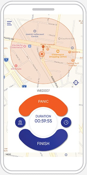 online lone worker mobile app